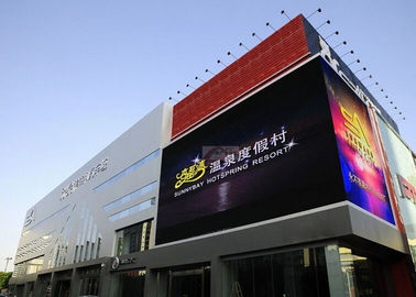 P6 Outdoor Full Color Outdoor LED Display For Advertising Customized